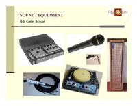Sound & Equipment